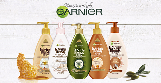 Garnier Loving Blends Body Milks